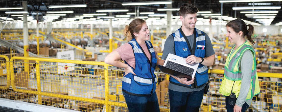 Bereichsleiter Logistik (m/w) - Duisburg - Job bei Amazon in Duisburg